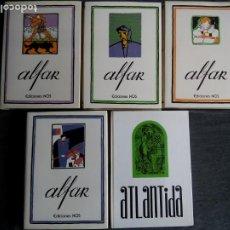 Libros de segunda mano: LOTE DE 5 TOMOS. ALFAR + ATLÁNTIDA. EDICIÓN FACSÍMIL. EDCIONES NÓS. FUNDACIÓN CAIXA GALICIA. ESPAÑA.. Lote 228603105
