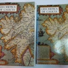 Libros de segunda mano: VV.AA GUIA NAUTICA DE GALICIA + ESTUCHE CON CARTAS NÁUTICAS S1872T. Lote 228611260