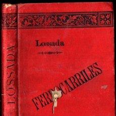 Libros de segunda mano: LOSSADA : MANUAL MILITAR DE FERROCARRILES (1895). Lote 228643740