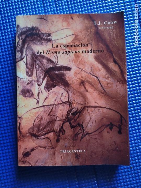 LA ESPECIACION DEL HOMO SAPIENS MODERNO T J CROW EDITOR (Libros de Segunda Mano - Pensamiento - Otros)