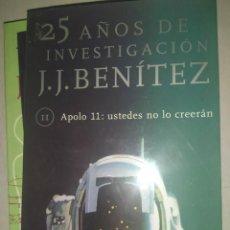 Libros de segunda mano: APOLO XI: USTEDES LO CREERAN (25 AÑOS DE INVESTIGACION, 11) J.J. BENITEZ. Lote 228835130