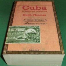 Libros de segunda mano: CUBA. LA LUCHA POR LA LIBERTAD - HUGH THOMAS (LIBRO NUEVO). Lote 228997180