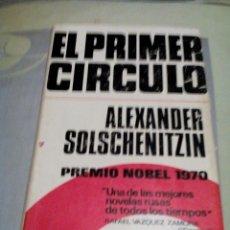 Libros de segunda mano: RES-LIBRO/EL PRIMER CIRCULO/ALEXANDER SOLSCHENITZIN//MIDE APROX14X21CM/646PAGINAS. Lote 229263200