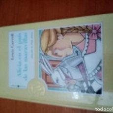 Livros em segunda mão: ALICIA EN EL PAÍS DE LAS MARAVILLAS. LEWIS CARROLL. LA 100 JOYAS DEL MILENIO. EST10B2. Lote 229323055