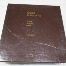 Libros de segunda mano: GONZALO ALLEGUE GALICIA O OFICIO DE VIVIR A CIDADE, A TERRA, O MAR ( CASTELLANO-GALLEGO) Q4395T. Lote 229514070