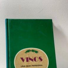 Libros de segunda mano: VINOS UNA GUIA PERSONAL .. Lote 229530225