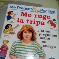 Libros de segunda mano: RES-LIBRO INFANTIL/ME RUGE LA TRIPA/BRIGID AVISON/MIDE APROX24X28CM/SOLO TIENE 32 PAGINAS. Lote 229572190