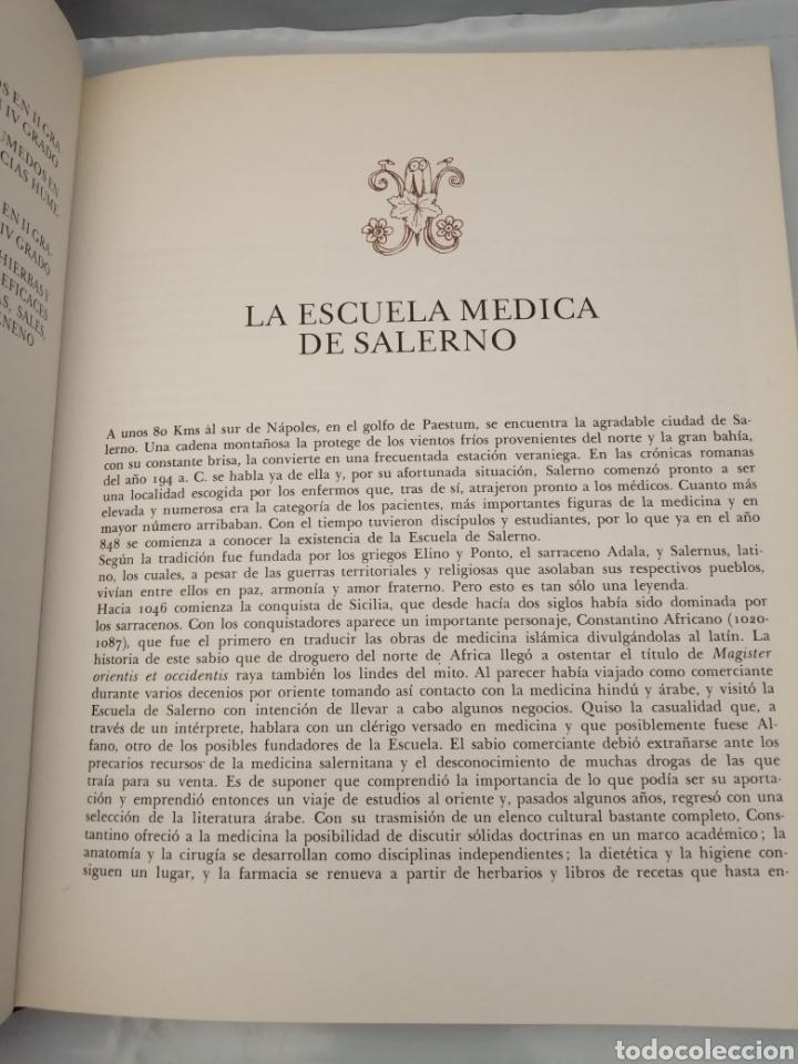 Libros de segunda mano: Comentarios a las Tablas Médicas de Salerno por Bernardo Provenzal (Primera edición) - Foto 5 - 229682005