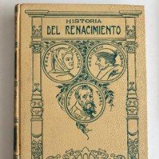Livres d'occasion: ¡OCASION! - HISTORIA DEL RENACIMIENTO II - JOSE PEREZ HERVAS - MONTANER Y SIMON EDITORES. Lote 230002460