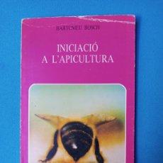 Libri di seconda mano: INICIACIÓ A L'APICULTURA - BARTOMEU BOSCH. Lote 230245600