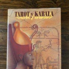 Libros de segunda mano: TAROT Y KABALA. SAMAEL AUN WEOR. AGEAC. TRADICIÓN GNÓSTICA. HERMETISMO.. Lote 230416860