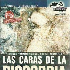 Libros de segunda mano: LORENZO FERNANDEZ BUENO Y DAVID E. SENTINELLA-LAS CARAS DE LA DISCORDIA.NOWTILUS.2004.SIN CD.. Lote 230422080