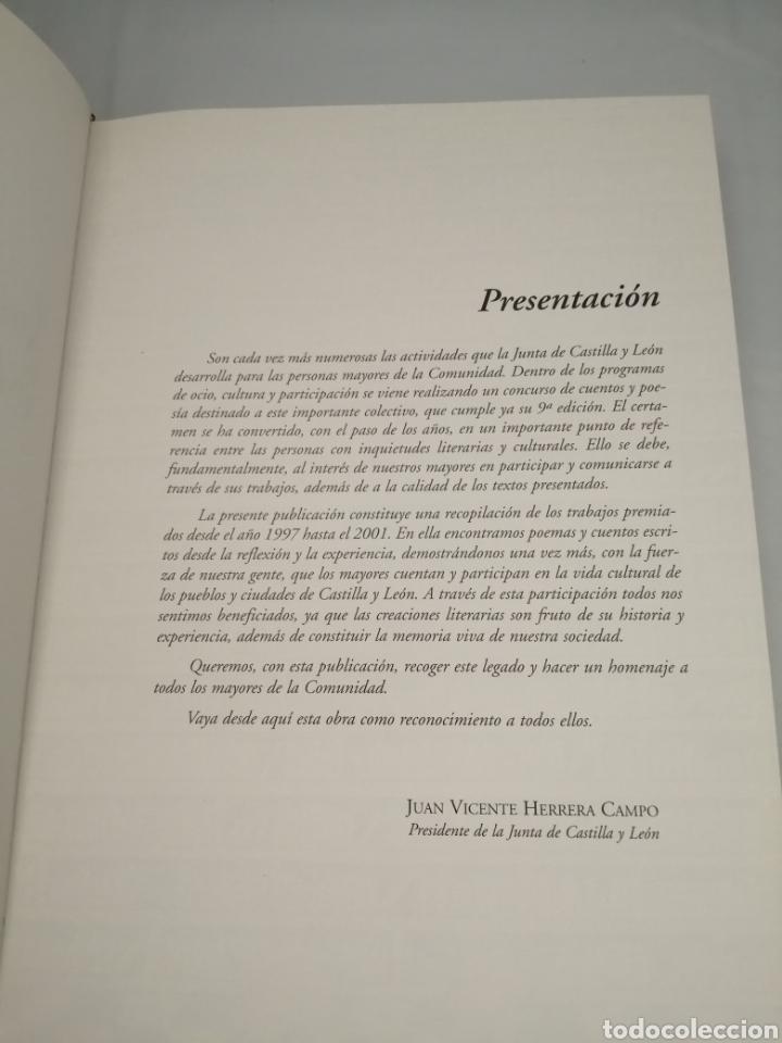 Libros de segunda mano: Los mayores cuentan: concursos de cuentos y poesía para las personas mayores, 1997-2001 - Foto 5 - 230347385