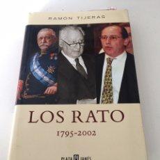 Libros de segunda mano: LOS RATO. Lote 230496195