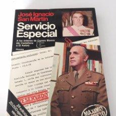 Libros de segunda mano: SERVICIO ESPECIAL. Lote 230500975