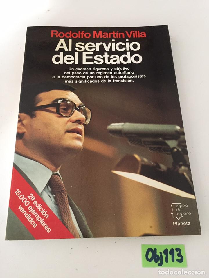 EL SERVICIO DEL ESTADO (Libros de Segunda Mano - Pensamiento - Otros)