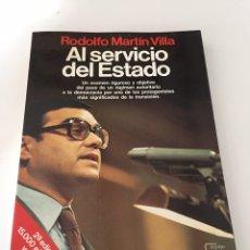 Libros de segunda mano: EL SERVICIO DEL ESTADO. Lote 230501925