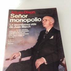 Libros de segunda mano: SEÑOR MONOPOLIO. Lote 230504340