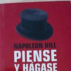 Libros de segunda mano: PIENSE Y HÁGASE RICO NAPOLEON HILL. Lote 230532650
