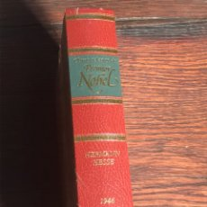 Libros de segunda mano: OBRAS SELECTAS PREMIOS NOBEL (NUEVO) HERMANN HESSE 1946. Lote 230569890