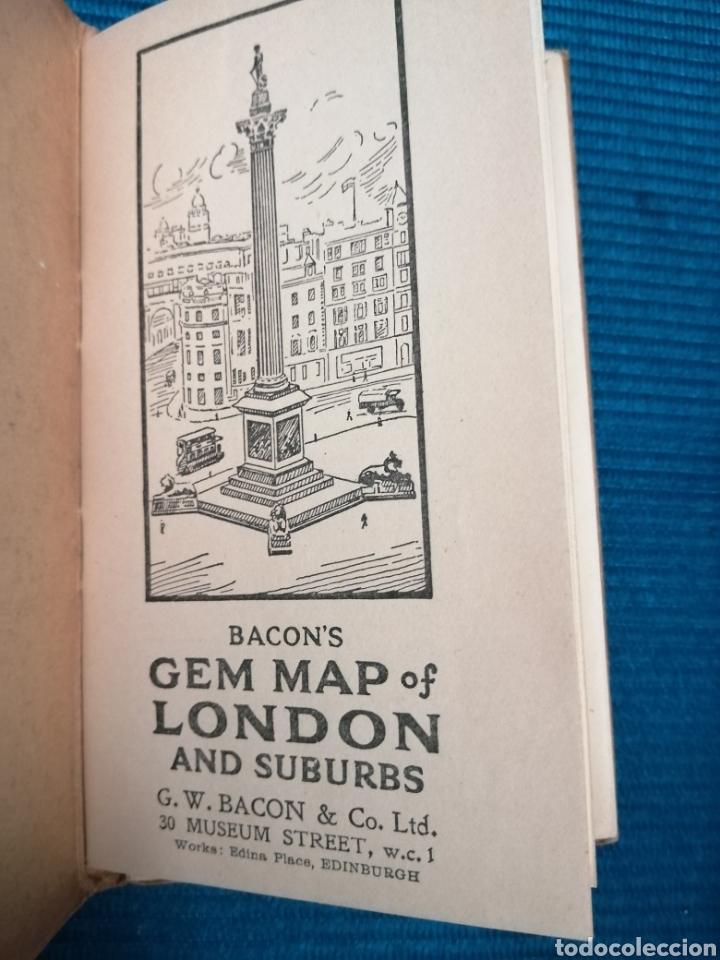 Libros de segunda mano: MAPA CALLEJERO Y SUBURBIOS DE LONDRES - Foto 3 - 230734135
