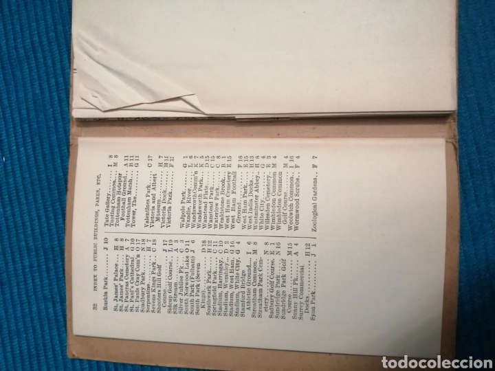Libros de segunda mano: MAPA CALLEJERO Y SUBURBIOS DE LONDRES - Foto 6 - 230734135
