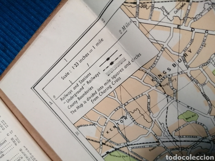 Libros de segunda mano: MAPA CALLEJERO Y SUBURBIOS DE LONDRES - Foto 10 - 230734135