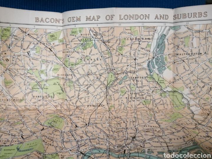 Libros de segunda mano: MAPA CALLEJERO Y SUBURBIOS DE LONDRES - Foto 12 - 230734135