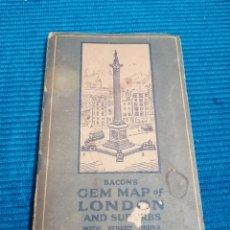 Libros de segunda mano: MAPA CALLEJERO Y SUBURBIOS DE LONDRES. Lote 230734135