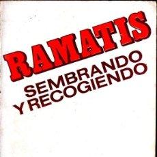 Libros de segunda mano: RAMATIS : SEMBRANDO Y RECOGIENDO (KIER, 1977). Lote 230757335