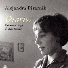 Libros de segunda mano: DIARIOS. ALEJANDRA PIZARNIK.- NUEVO. Lote 231043385