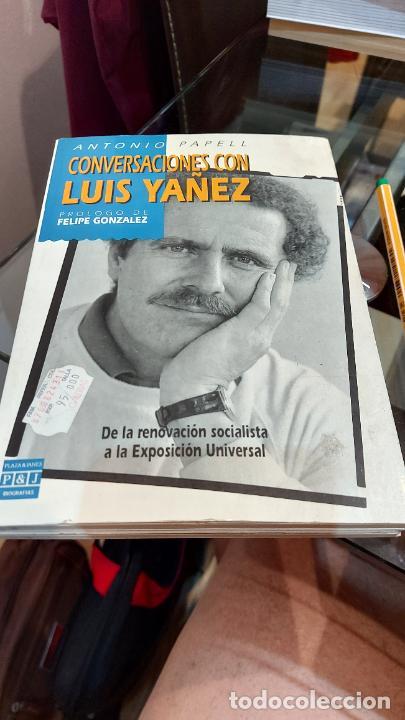LIBRO DE ANTONIO PAPELL(CONVERSACIONES CON LUIS YAÑEZ) (Libros de Segunda Mano - Historia - Otros)