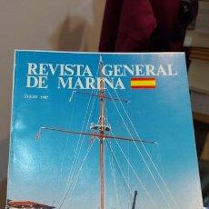 Libros de segunda mano: LIBRO DE REVISTA GENERAL DE MARINA JULIO 1987. Lote 231067110