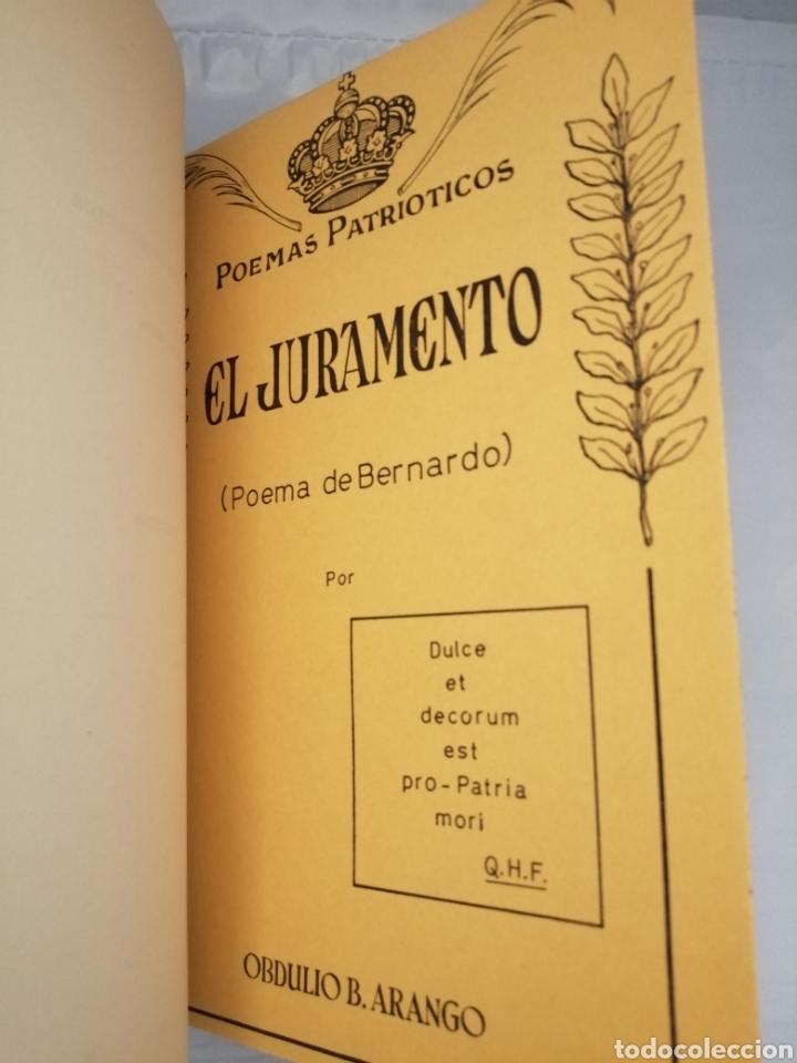 Libros de segunda mano: 4 Obras de Obdulio Barrera Arango: Doña Berenguela de Castilla / Absalón / Panthea / El Juramento - Foto 5 - 231155530