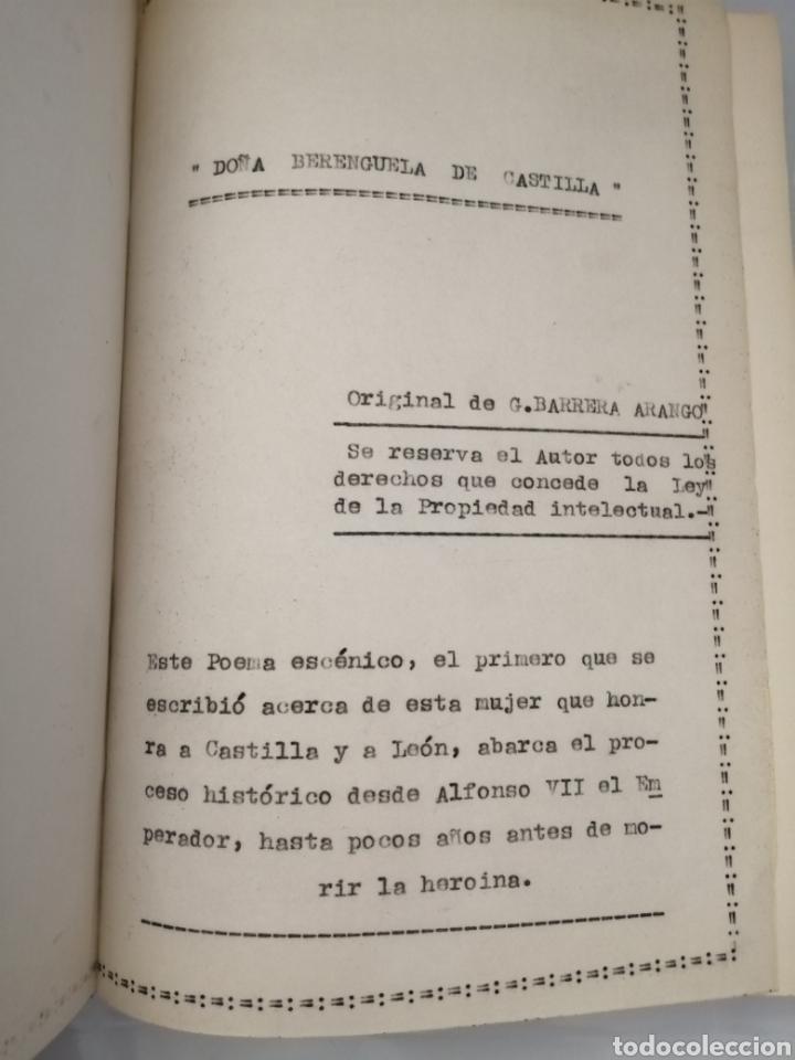Libros de segunda mano: 4 Obras de Obdulio Barrera Arango: Doña Berenguela de Castilla / Absalón / Panthea / El Juramento - Foto 7 - 231155530