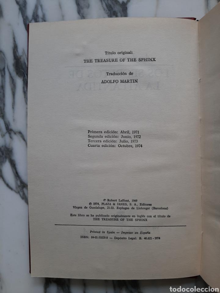 Libros de segunda mano: SECRETOS DE LA ATLÁNTIDA - ANDREW TOMAS - COLECCIÓN OTROS MUNDOS - Foto 3 - 231320270