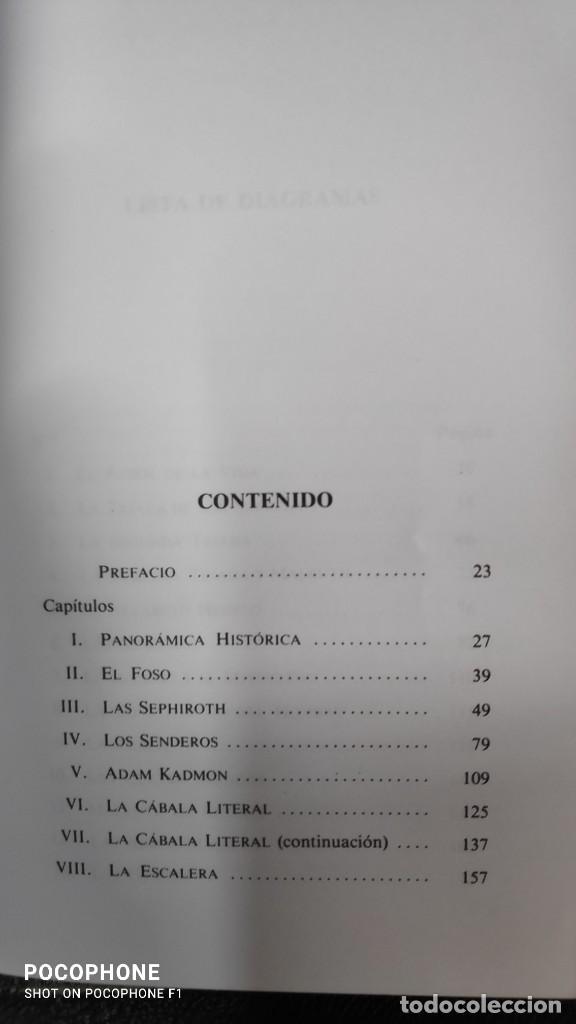 Libros de segunda mano: UN JARDIN DE GRANADAS UNA INTRODUCCION A LA CABALA ( ISRAEL REGARDIE ) - Foto 5 - 231377270