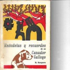 Livros em segunda mão: LIBRO ANECDOTAS Y RECUERDOS DE UN CAZADOR GALLEGO CON DEDICATORIA DEL AUTOR 1978. Lote 231401235