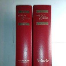 Libros de segunda mano: LOS CALIFAS TOMO I 1965-1980 Y TOMO II 1981-1996 1997 PEPE TOSCANO FOTOGRAFÍA LADIS NUEVA PLAZA. Lote 231547735
