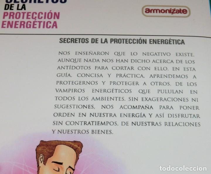 Libros de segunda mano: SECRETOS DE LA PROTECCIÓN ENERGÉTICA-CLAUDIO MÁRQUEZ-EDICIÓN LIMITADA[DESCATALOGADO](3 seguimientos) - Foto 4 - 231573885