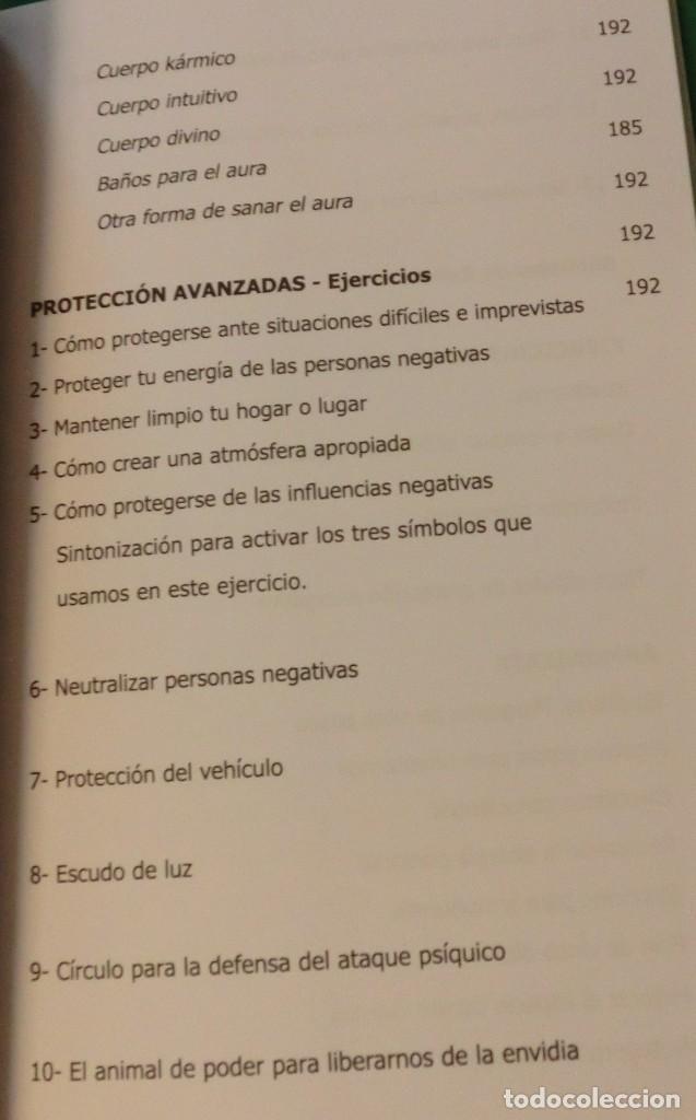 Libros de segunda mano: SECRETOS DE LA PROTECCIÓN ENERGÉTICA-CLAUDIO MÁRQUEZ-EDICIÓN LIMITADA[DESCATALOGADO](3 seguimientos) - Foto 7 - 231573885