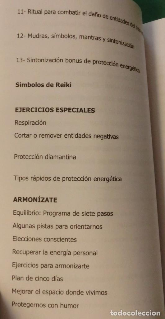 Libros de segunda mano: SECRETOS DE LA PROTECCIÓN ENERGÉTICA-CLAUDIO MÁRQUEZ-EDICIÓN LIMITADA[DESCATALOGADO](3 seguimientos) - Foto 8 - 231573885