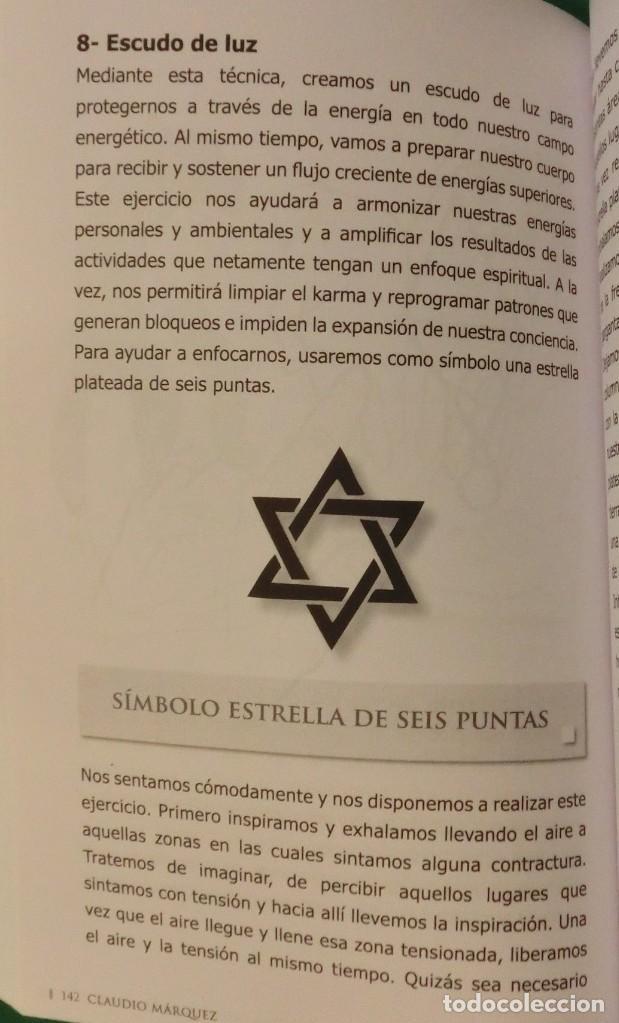 Libros de segunda mano: SECRETOS DE LA PROTECCIÓN ENERGÉTICA-CLAUDIO MÁRQUEZ-EDICIÓN LIMITADA[DESCATALOGADO](3 seguimientos) - Foto 14 - 231573885