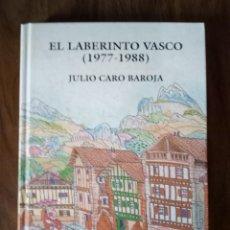 Libri di seconda mano: JULIO CARO BAROJA - EL LABERINTO VASCO (1977-1988). Lote 231622920