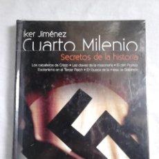 Libros de segunda mano: CUARTO MILENIO, IKER JIMÉNEZ, N.º 5 - SECRETOS DE LA HISTORIA (INCLUYE DVD) - PRECINTADO / MISTERIO. Lote 231564530