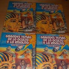 Libros de segunda mano: GRANDES TEMAS DE LO OCULTO Y LO INSÓLITO. 4 TOMOS. OCÉANO. Lote 231693120