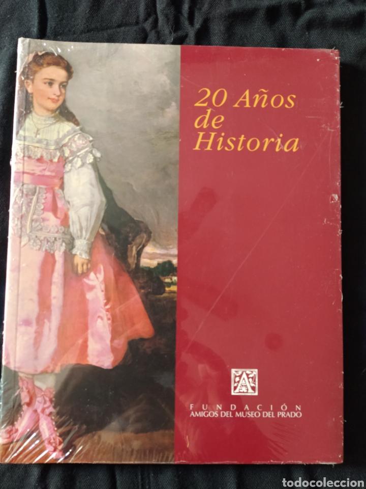 20 AÑOS DE HISTORIA. FUNDACIÓN AMIGOS DEL MUSEO DEL PRADO. NUEVO. (Libros de Segunda Mano - Bellas artes, ocio y coleccionismo - Otros)