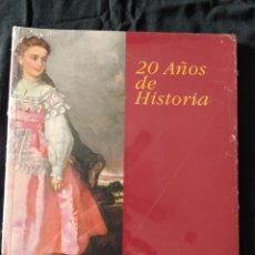 Libros de segunda mano: 20 AÑOS DE HISTORIA. FUNDACIÓN AMIGOS DEL MUSEO DEL PRADO. NUEVO.. Lote 231795240