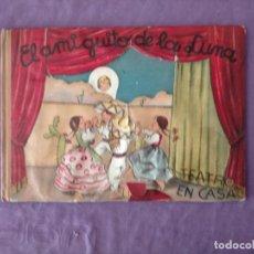 Libros de segunda mano: ANTIGUO TEATRO EN CASA - EL AMIGUITO DE LA LUNA DE EDICIONES DEL JUNCO - AÑO 1945 PIEZA MOVIL EN CUB. Lote 231853395