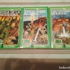 Livros em segunda mão: LOBO SOLITARIO 1, 2 Y 3 - LIBRO JUEGO LIBROJUEGO ROL. Lote 231903000